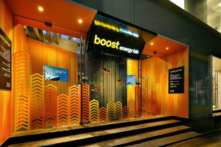 Adidas Boost Energy Lab, Seúl (Corea del Sur), por Urbantainer