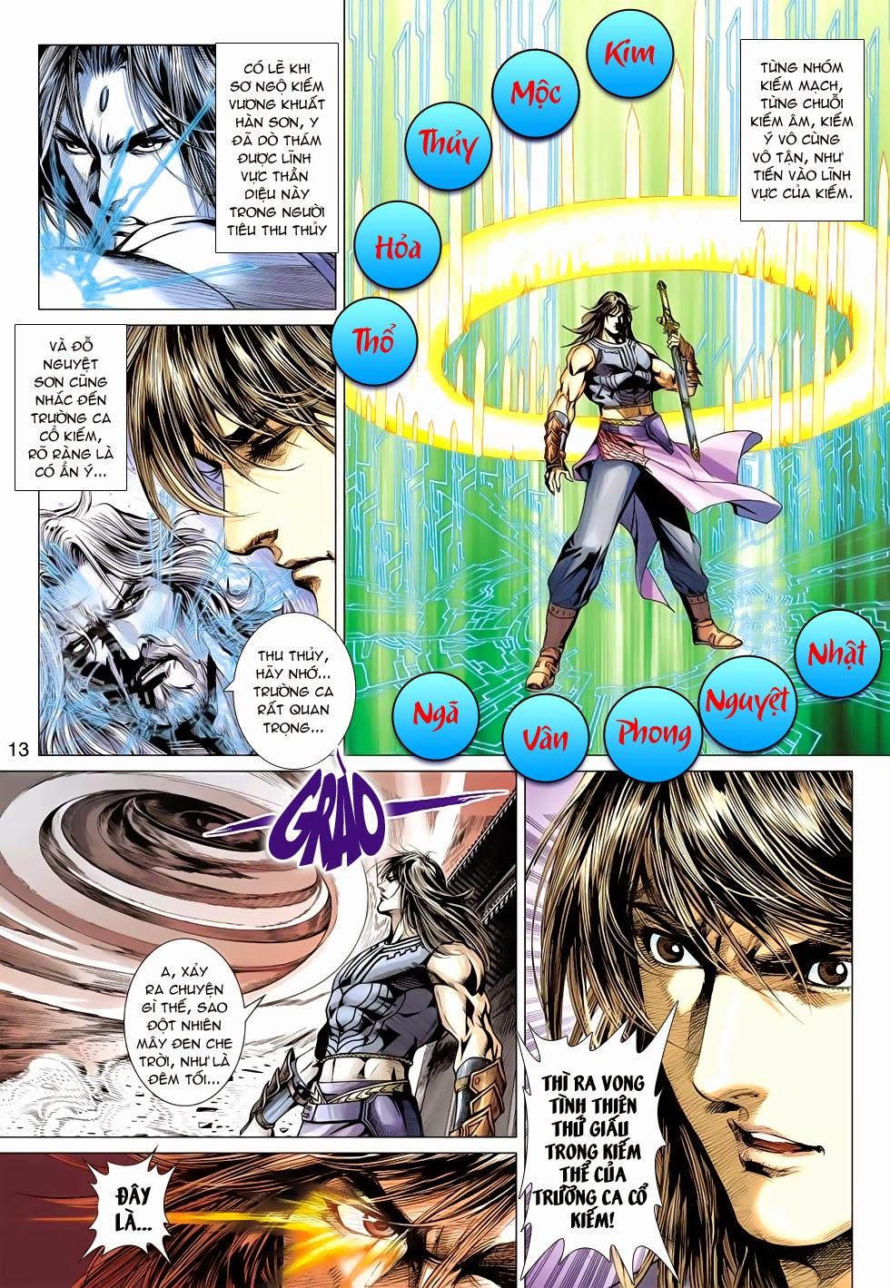 Thần Châu Kỳ Hiệp chap 32 – End Trang 13 - Mangak.info