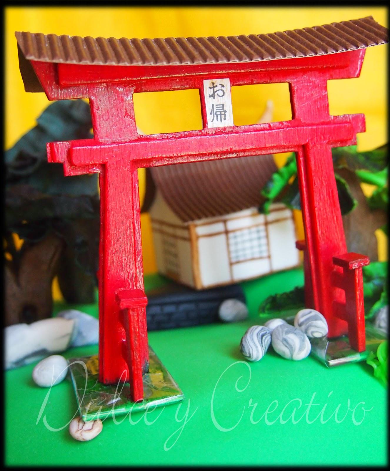 Tarta Jardín Japonés