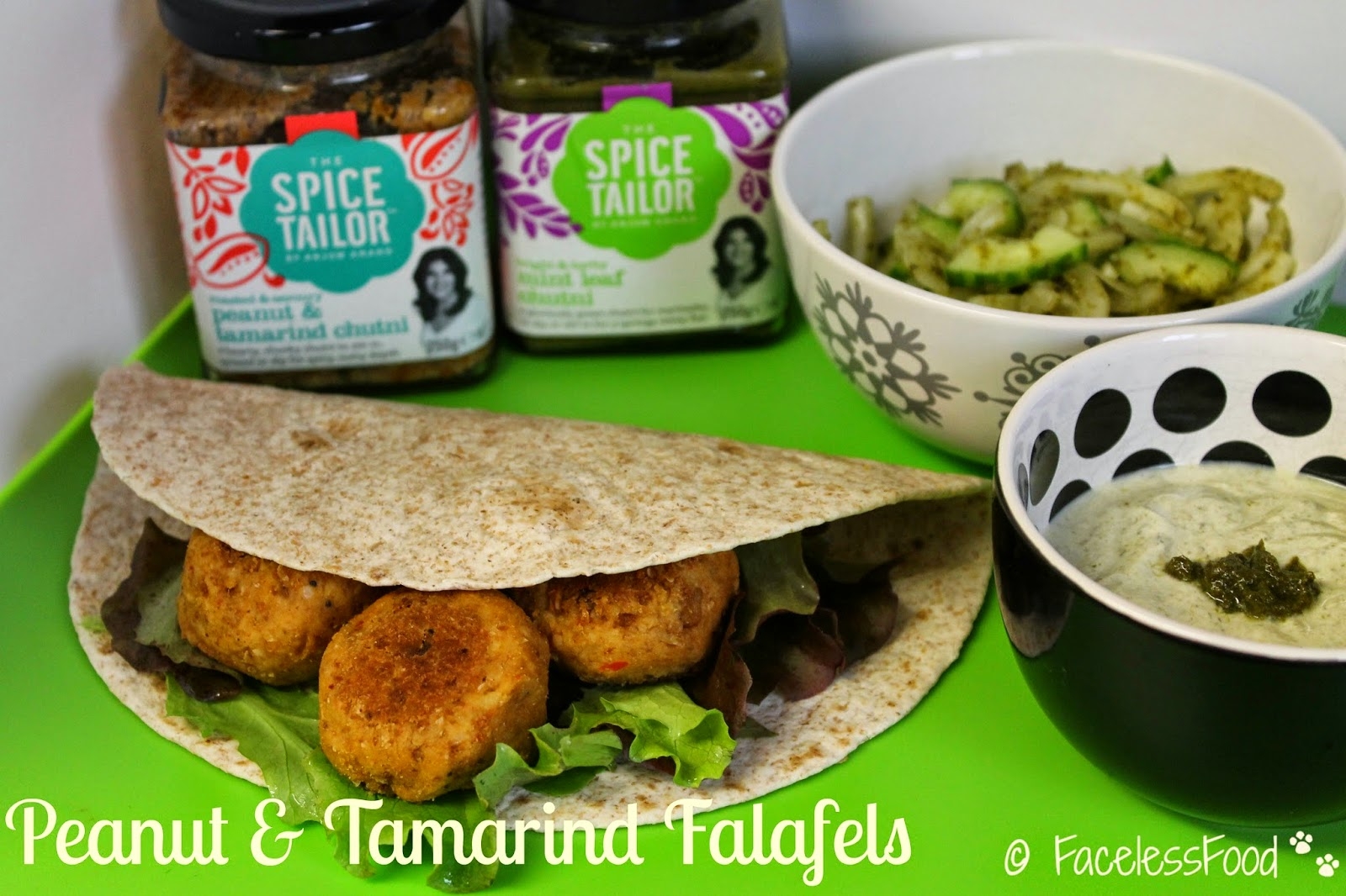 Peanut & Tamarind Falafels