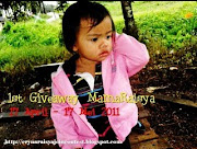 1st Giveaway dari MamaRaisya