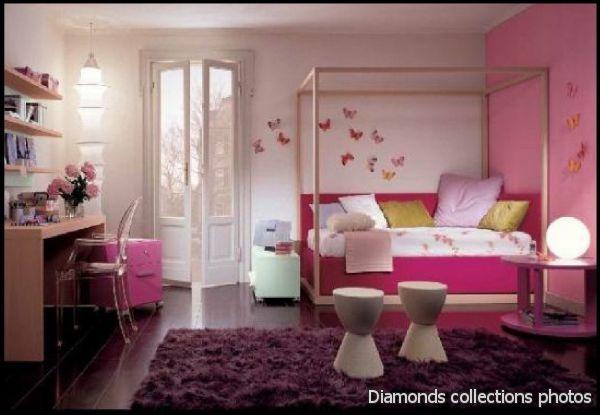 desain unik untuk kamar tidur cewek inspirasi pernikahan