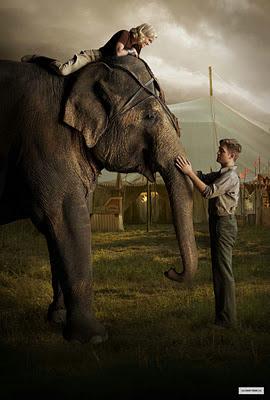 Agua para elefantes Sara Gruen robert pattison