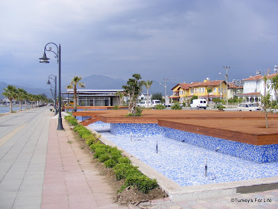 Fethiye harbour water features