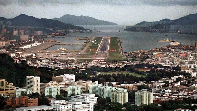 Aeropuertos peligrosos: Hong Kong