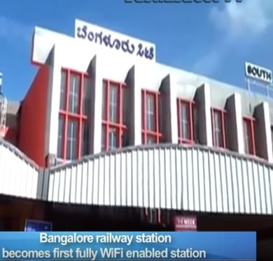 bangalore railway station entry