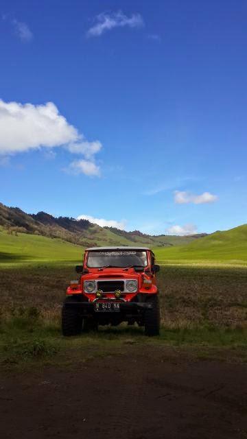 Harga Sewa Jeep Murah ke Bromo