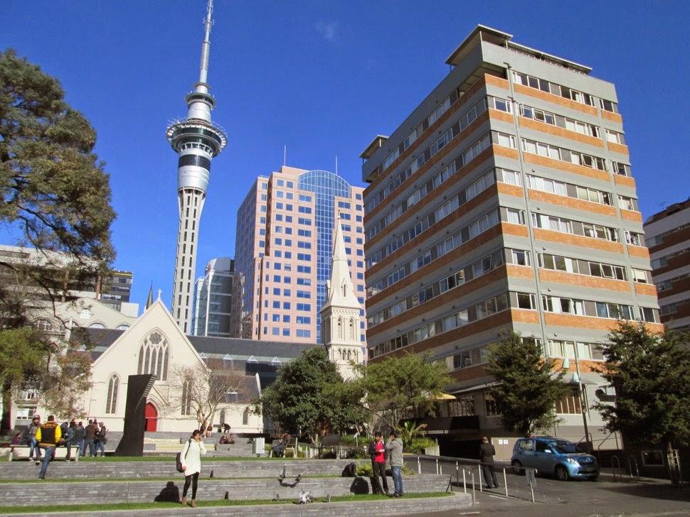 Auckland St Patricks Square