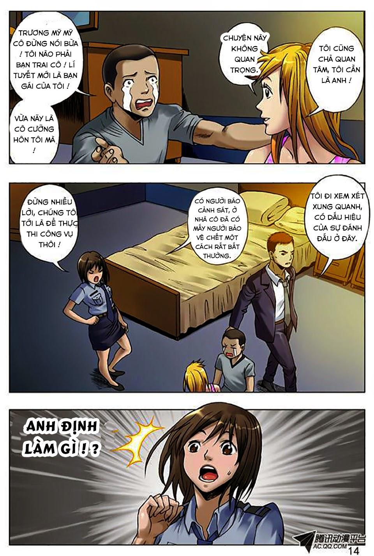 Trung Quốc Kinh Ngạc Tiên Sinh chap 12 - Trang 15