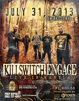 Killswitch Engage Live in Manila