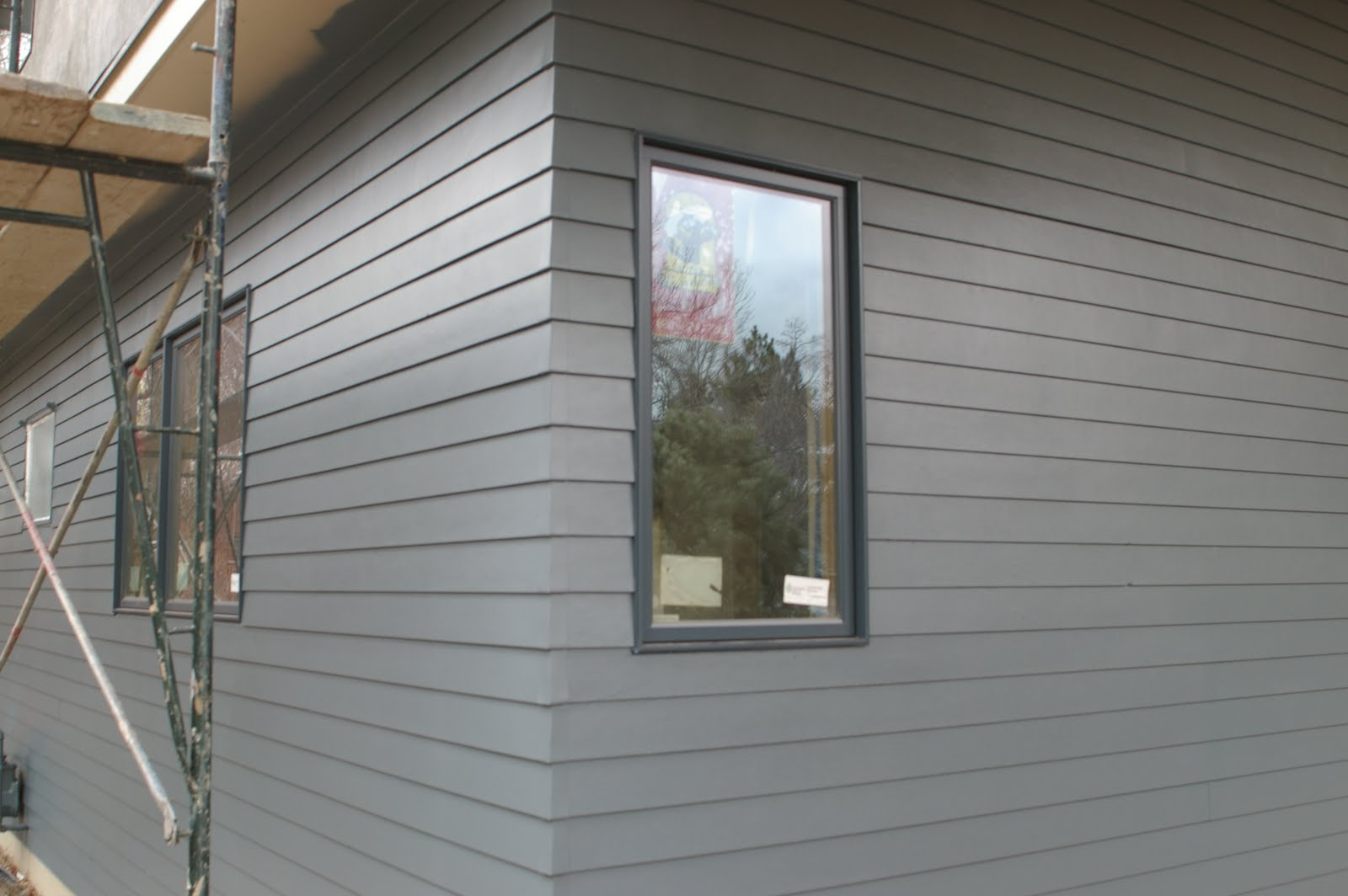 sometimes the smallest bit of care and attention to detail yields some nice results we used hardieplank fiber cement lap siding with a 4 reveal on the