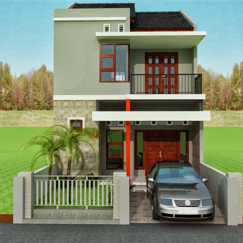 rumah minimalis 2 lantai type 36 rumah minimalis 2014