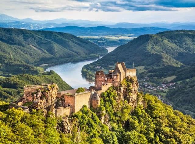 Burgruine Aggstein Castle - Wachau, Lower Austria, Austria