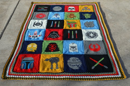 A Galaxy Far, Far Away - Free Pattern