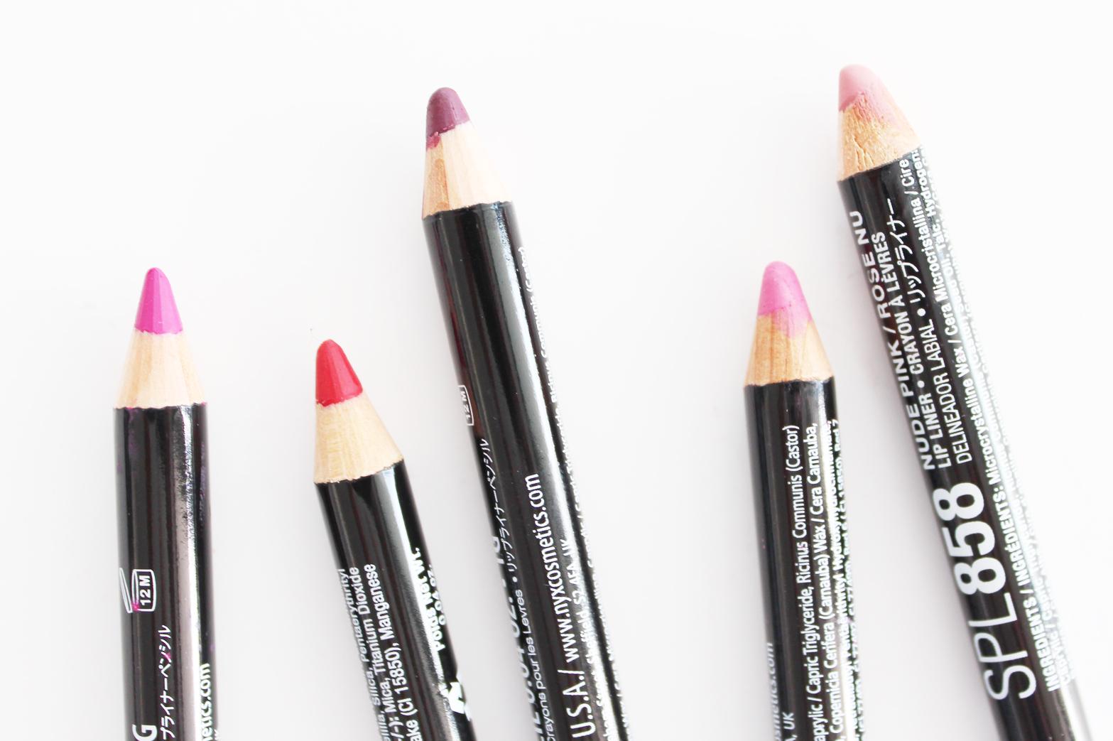 6pcs/set 36 Colors Nude lip liner Matte Lipliner Pencil