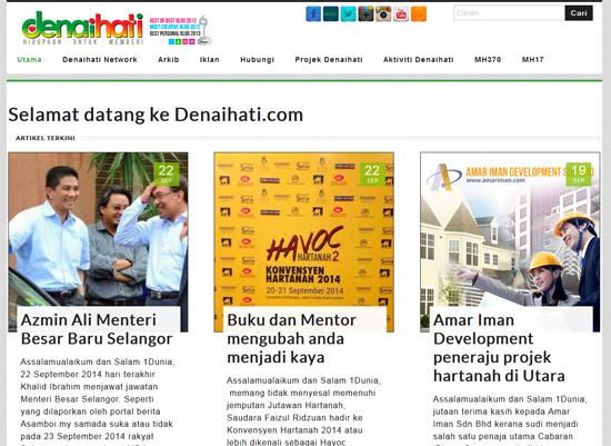 Blog top rank Malaysia