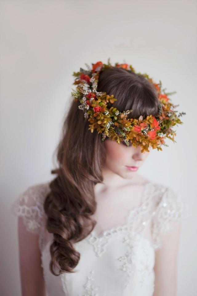 Fall Flower Crown