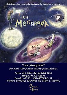 Los Meagrada, Gracia Iglesias, Alvaro Fierro, Susana Rosique, Editorial Bornova, Ballena de Cuentos, Egartorre, Feria del Libro de Madrid