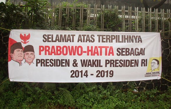Prabowo claims victory