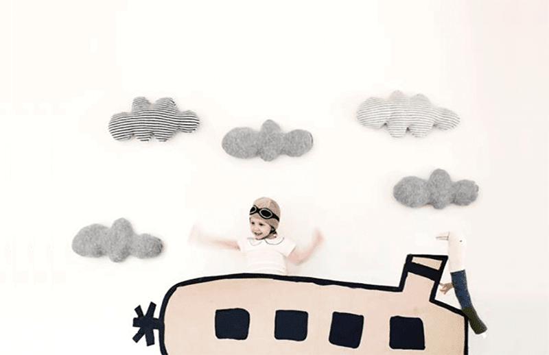 selección de cojines infantiles de diseño