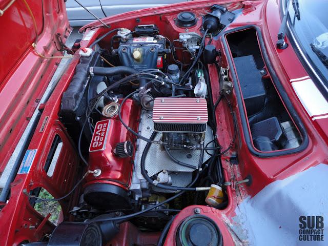 1983 Honda Accord engine swap that went into this 1978 Civic