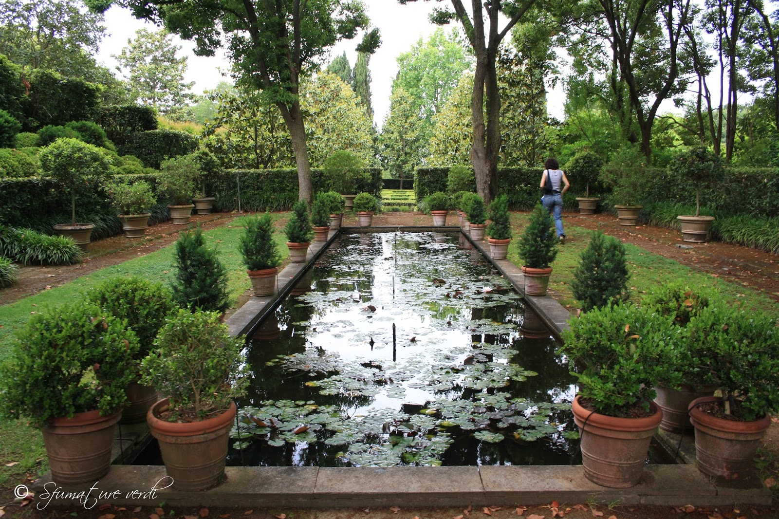 i giardini della landriana | sfumature verdi - Piccolo Giardino Allitaliana