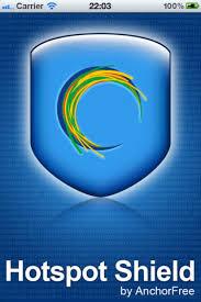 برنامج هوت سبوت شيلد  للاندرويد download hotspot shield android