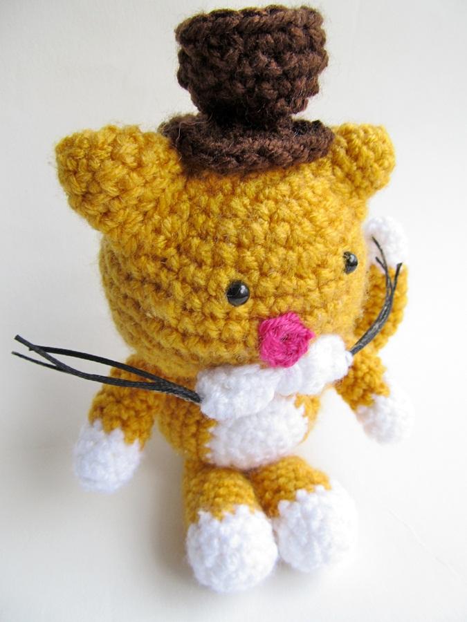 Amigurumi Top Hat Pattern : {An Amigurumi Cat Gentleman Crochet Pattern} - Little ...