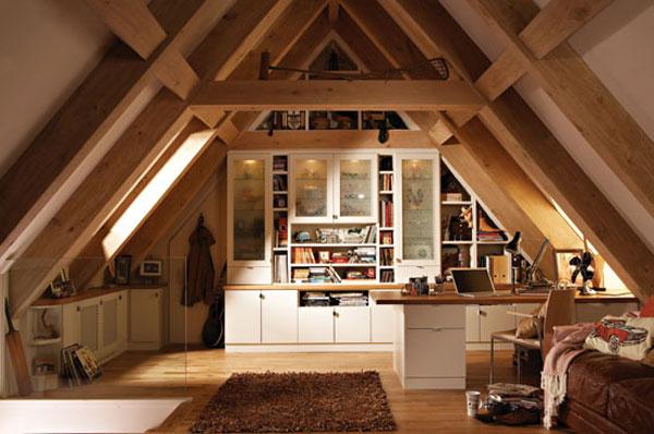 Как сделать комнаты крышу дома