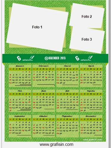 Desain Kalender 2015