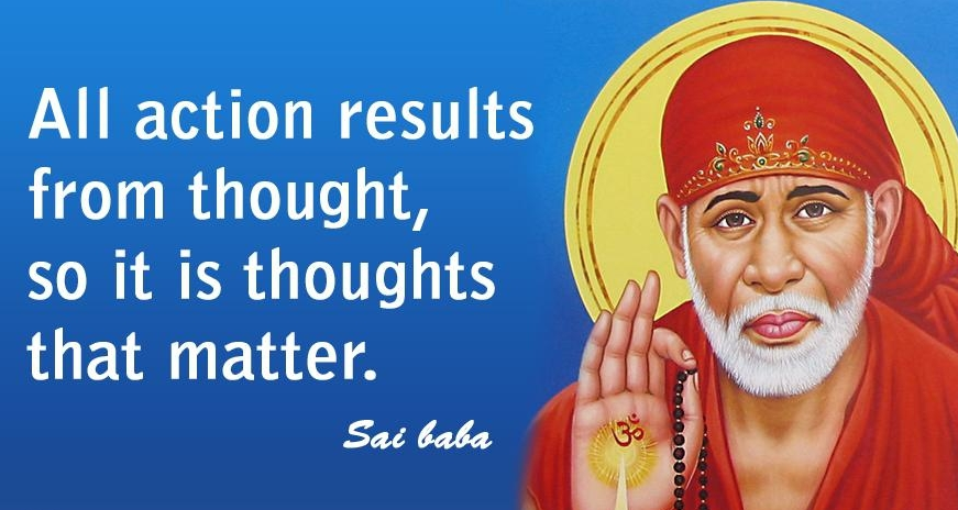 quote of sai baba