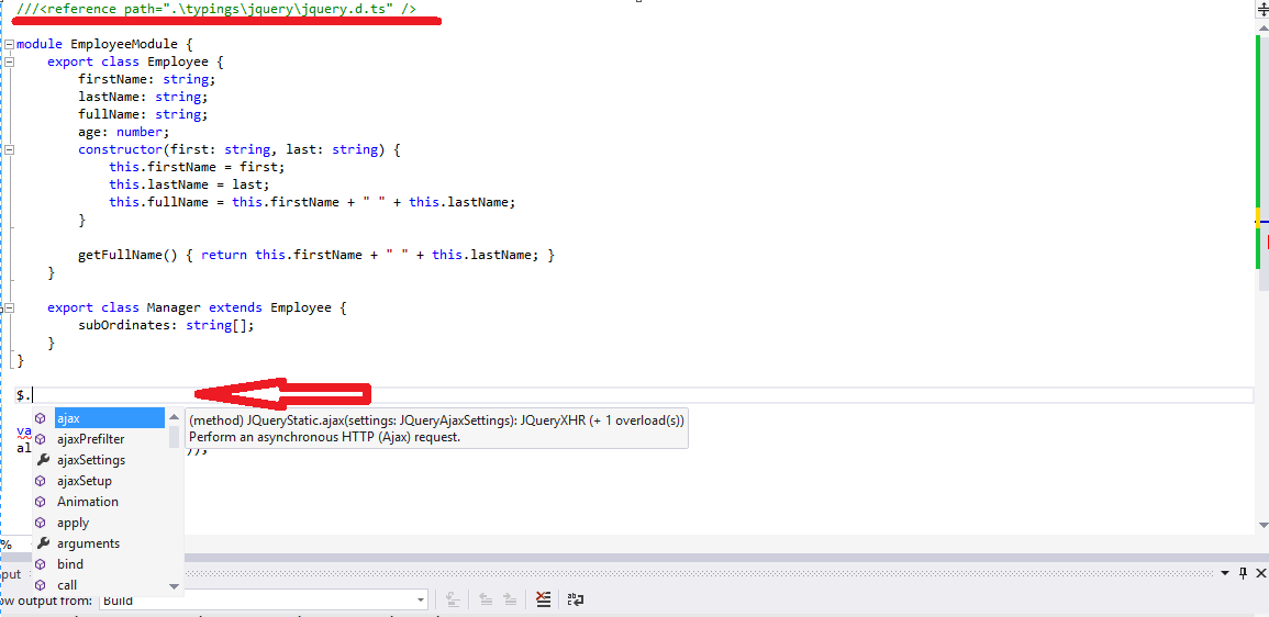 How to write a query code
