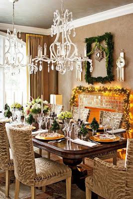 mesa de centro navidad