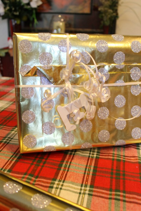 Macys, Anthropologie, Target, Michaels, Gift Wrapping