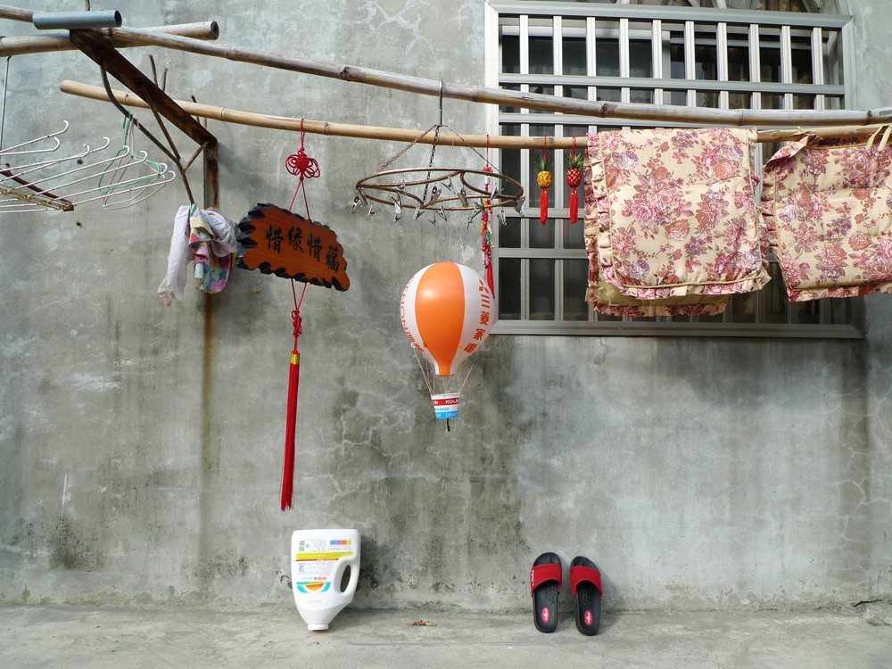 laundry hanging in taiwan
