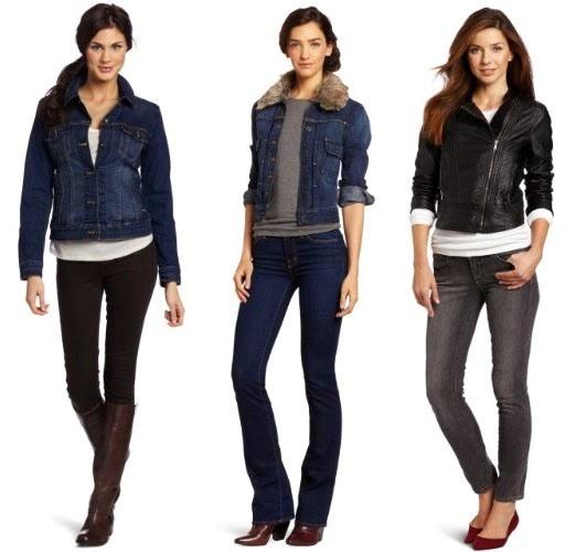 Mengenakan Jaket Jeans