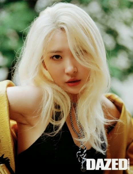 Sunmi graces 'Dazed and Confused'