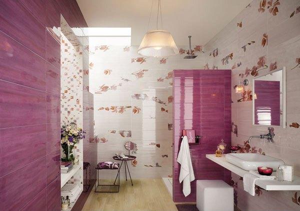 contoh desain keramik kamar mandi yang bagus