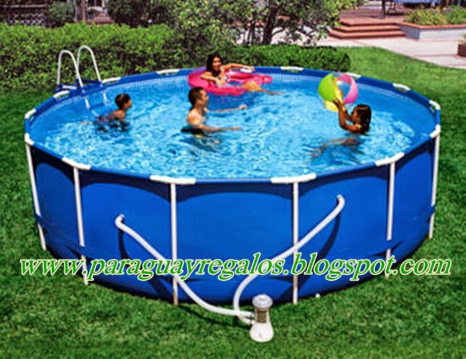 Paraguay regalos piscinas for Piscina de 6000 litros