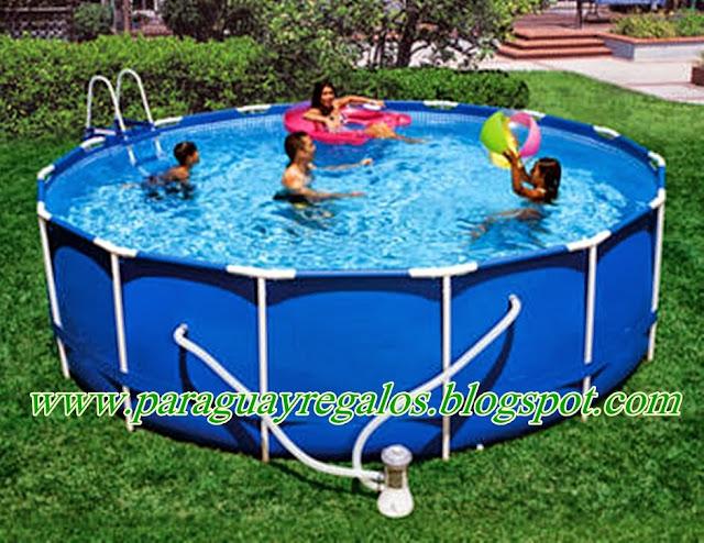 Paraguay regalos piscinas for Piscinas de 6000 litros