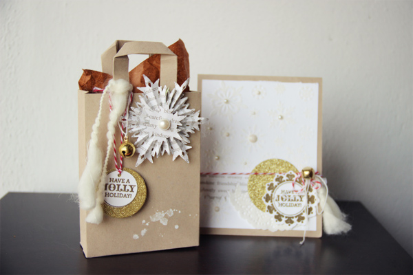 Crafting Ideas From Sizzix UK Holly Jolly Christmas Gift