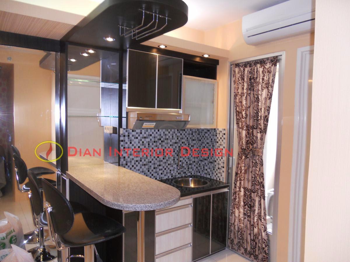 Paket kitchen set mini dian interior design for Kitchen set apartemen