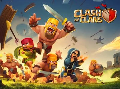 لعبة Clash of Clans على Android و Iphone