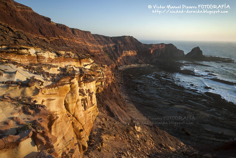 la costa se enciende al atardecer parque natural del suroeste alentejano y costa vicentina cabo de san vicente algarve portugal
