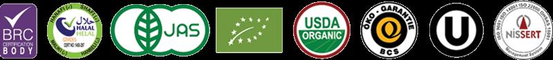 organic product certifiicate
