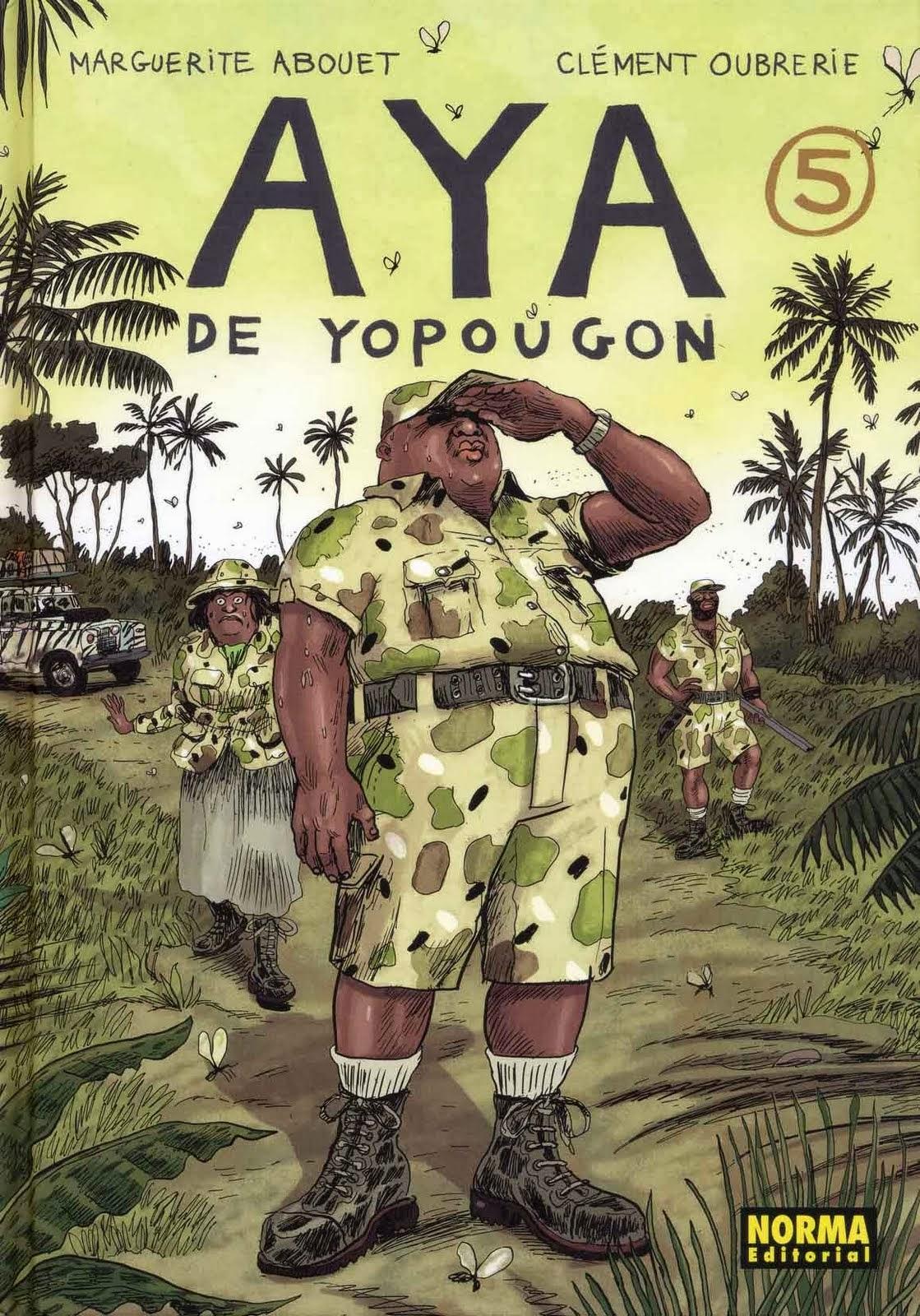 Aya de Yopougon 5,Marguerite Abouet, Clément Oubrerie,Norma Editorial  tienda de comics en México distrito federal, venta de comics en México df