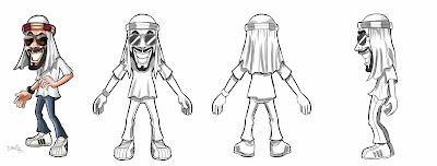 Ilustração para o Game do Mussoumano | Danillo souza