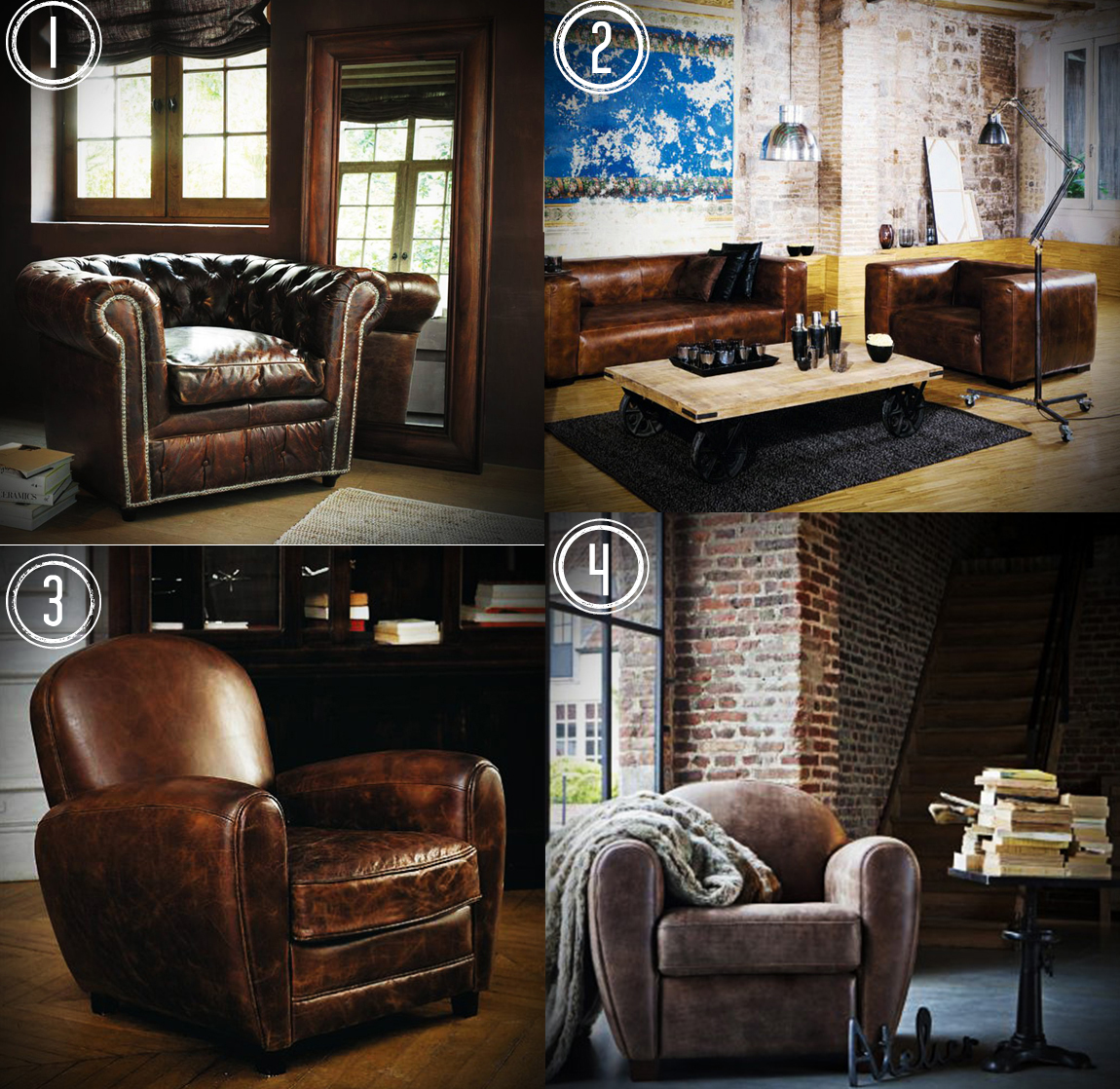 39 cause you need leather club seat. Black Bedroom Furniture Sets. Home Design Ideas