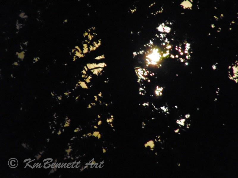 Moonscape photo KmBennettArt