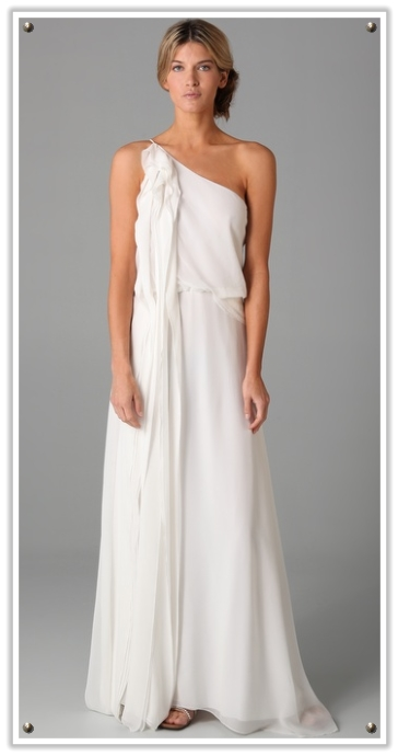 Sabi 39 s blog another popular wedding scrapbook idea is for Toga style wedding dress